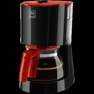 ENJOY crno/crvena boja – Aparat za filter kavu crno/crveni